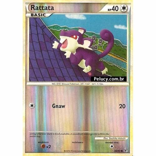 rattata - pokémon normal comum - 64/90 foil - hs undaunted