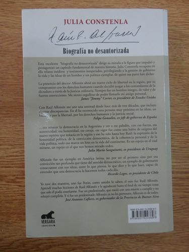raul alfonsín biografía no autorizada constenla