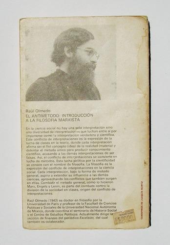 raul olmedo el antimetodo libro mexicano 1a edicion 1980