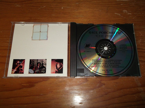raul porchetto - che pibe cd imp ed 1993 mdisk