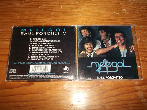 raul porchetto - metegol cd imp ed 1994 mdisk