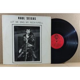 Raul Seixas -lp-vinil- Let Me Sing My Rock N Roll - 1985