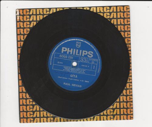 raul seixas 1974 gîtâ/ não pare na pista - compacto ep 15