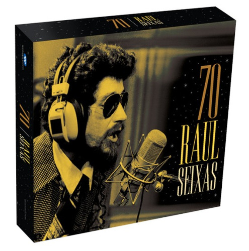 raul seixas 70 - box com 4 cds - original e lacrado