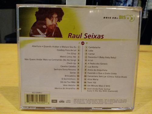 raul seixas bis duplo cd album