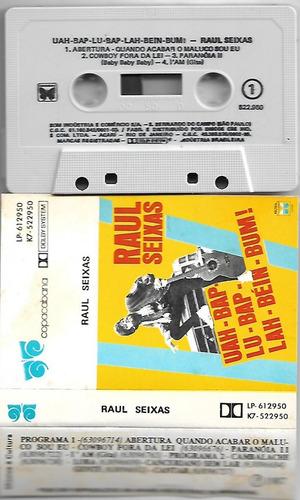raul seixas fita k7 uah-bap-lu-bap-lah-béin-bum! 1987