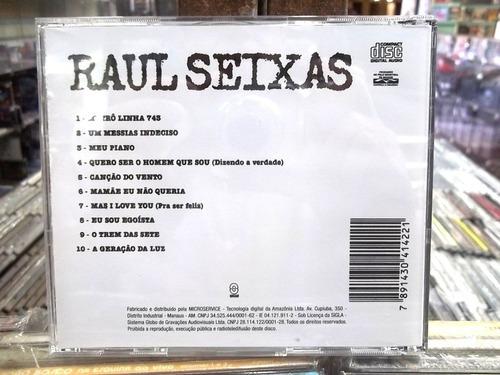 raul seixas metrô linha 743 cd original  frete 15,00