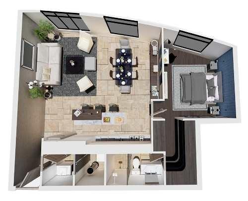 rav condominio en venta, new city, modelo 87 m2, en zona rio, en tijuana b.c.