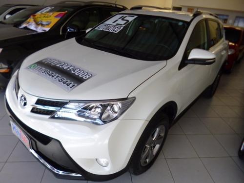 rav4 2.0 aut top 4x2 branca 2015 - playauto veiculos