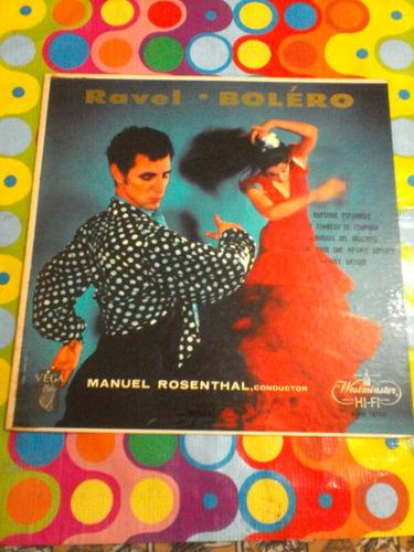 ravel lp bolero importado usa disco en excelente estado