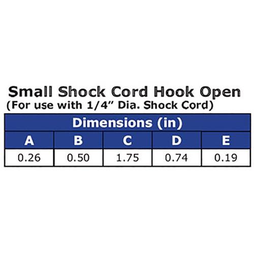 ravenox shock cord hook open   kayak bungee cord kit   heavy