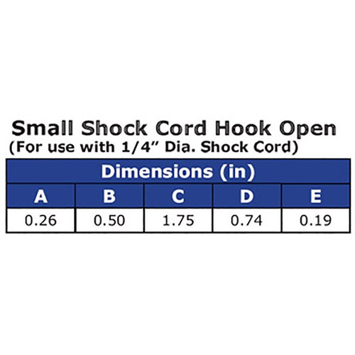 ravenox shock cord hook open | kayak bungee cord kit | heavy