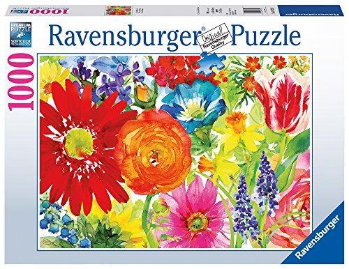 ravensburger -abundant blooms - puzzle de 1000 pc