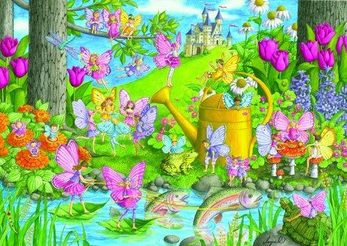 ravensburger fairy playland  puzzle de 100 piezas