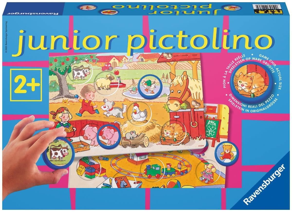 Ravensburger Juego De Mesa Junior Pictolino 890 00 En Mercado Libre