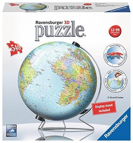ravensburger - puzzle 3d de la tierra (540 pc)
