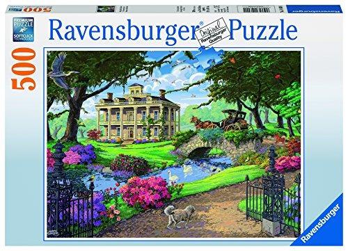 ravensburger puzzle de visita en la mansión jigsaw (500 pie