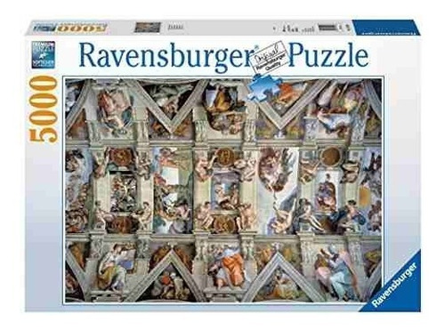 ravensburger sistine chapel - puzzle (5000 piezas)!