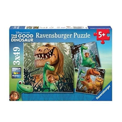 ravensburger the good dinosaur los dino gang 3 rompecabezas