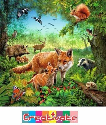 ravensburguer rompecabezas 3 de 49 pza animales de la tierra