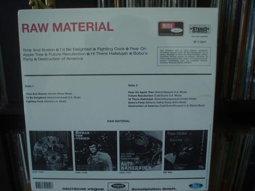 raw material  same  importado lp raro !!!!