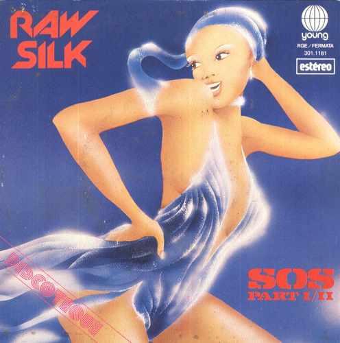 raw silk compacto de vinil sos - 1979