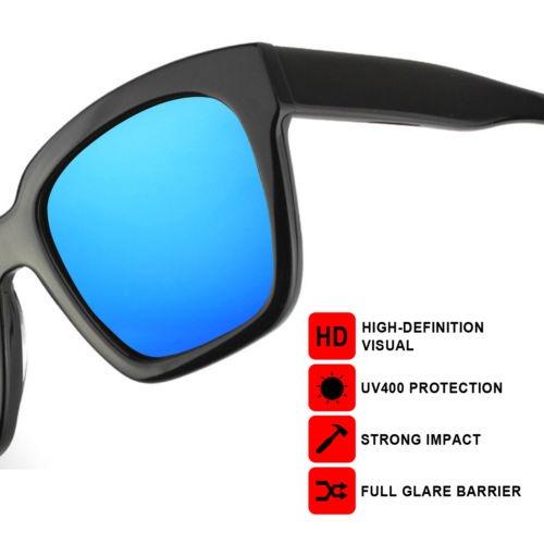 Rawd Cielo Azul Espejo Reemplazo Lentes M Para Oakley Marco ...