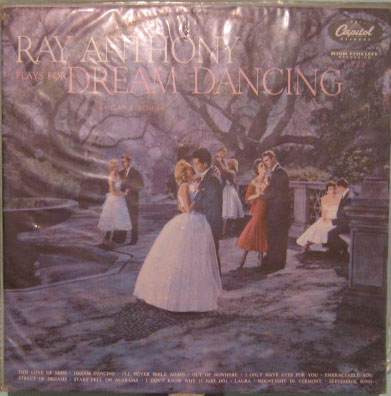 ray anthony e sua orquestra  -  plays for dream dancing