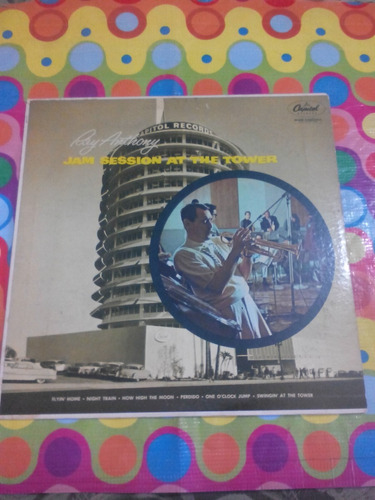 ray anthony lp jam session at the tower. importado u.s.a.
