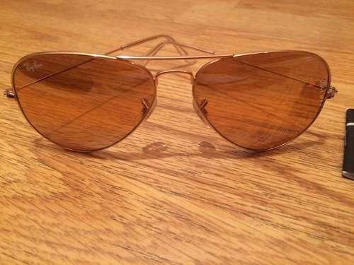 b73fc32069899 Ray-bam Aviador Espelhado Dourado - R  219,99 em Mercado Livre