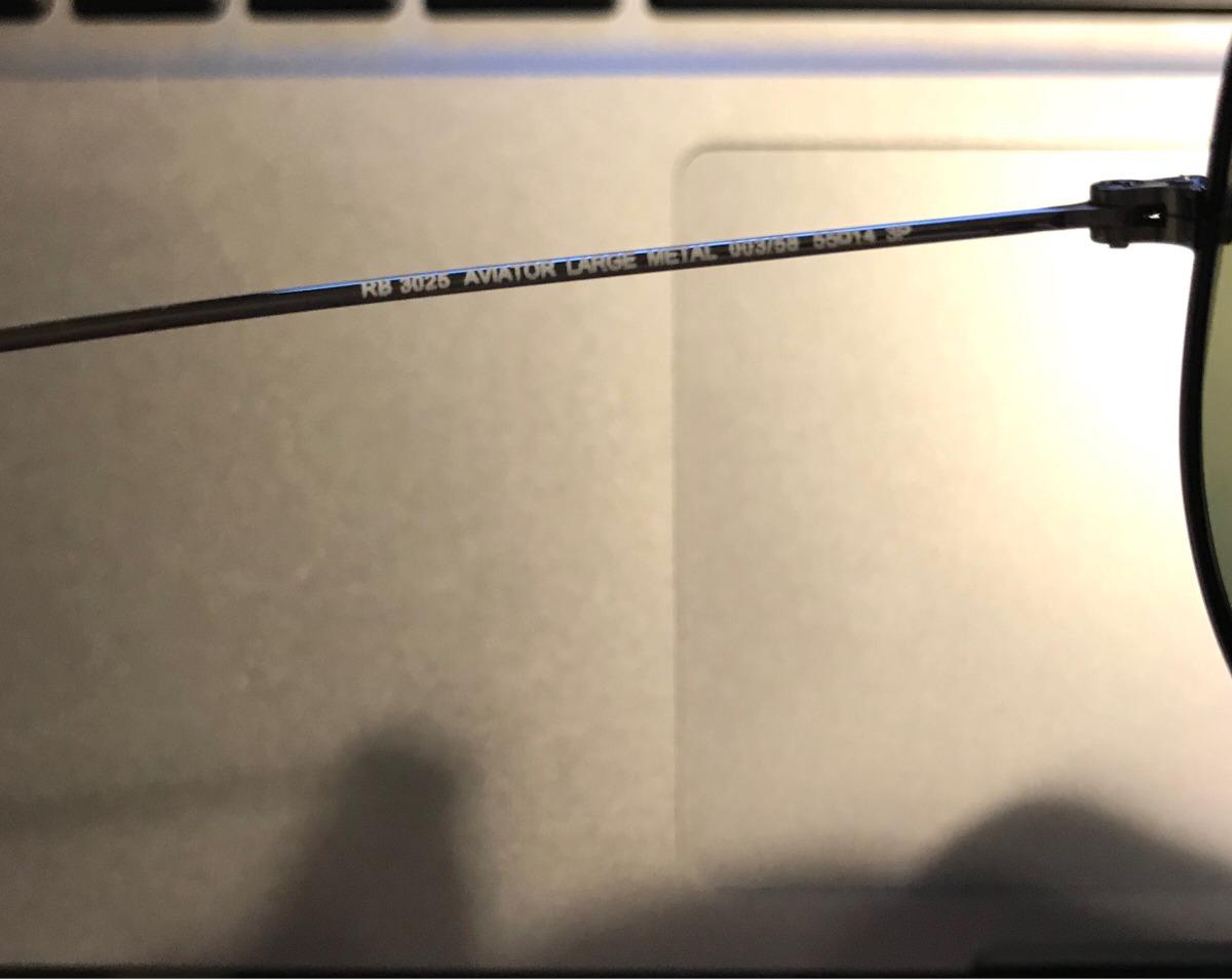 82f24c412af08 ray ban 100% original tipo aviador polarizados. Cargando zoom.