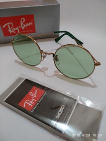 8e448a2c0 Oculos Rayban Dourado Transparente - Óculos no Mercado Livre Brasil