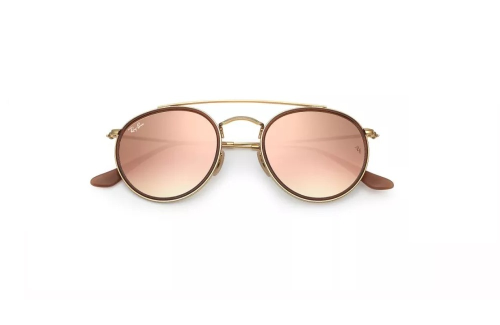 158ae95f28b15 ray ban 3647 double bridge rosa originales italianos. Cargando zoom.