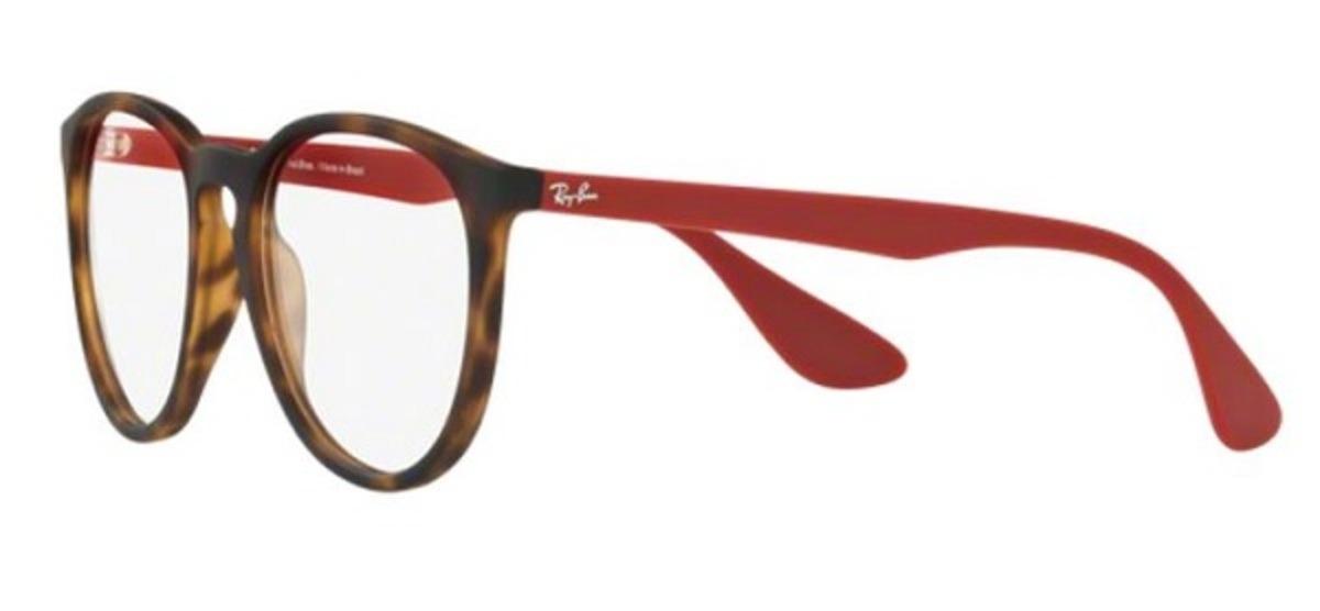 a4436aeed Ray-ban-7046l 5662 Erika-óculos De Grau - R$ 329,40 em Mercado Livre