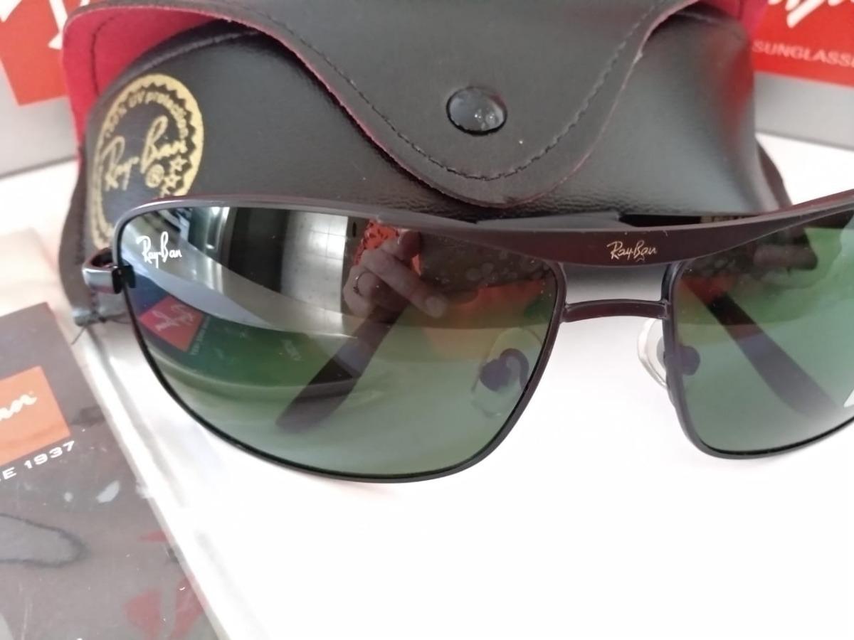 e74874b865055 ray ban 8013 armação preta lente verde. Carregando zoom.