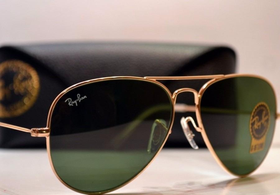 d5131a9dec ray ban - anteojos sol originales rb3025 l0205 aviator negro. Cargando zoom.