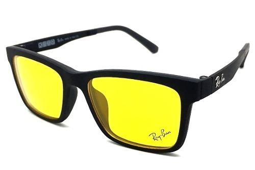 434a40f47742a armação oculos grau sol ray ban rb2089 2 clip on promoção · armação oculos  ray ban · ray ban armação oculos