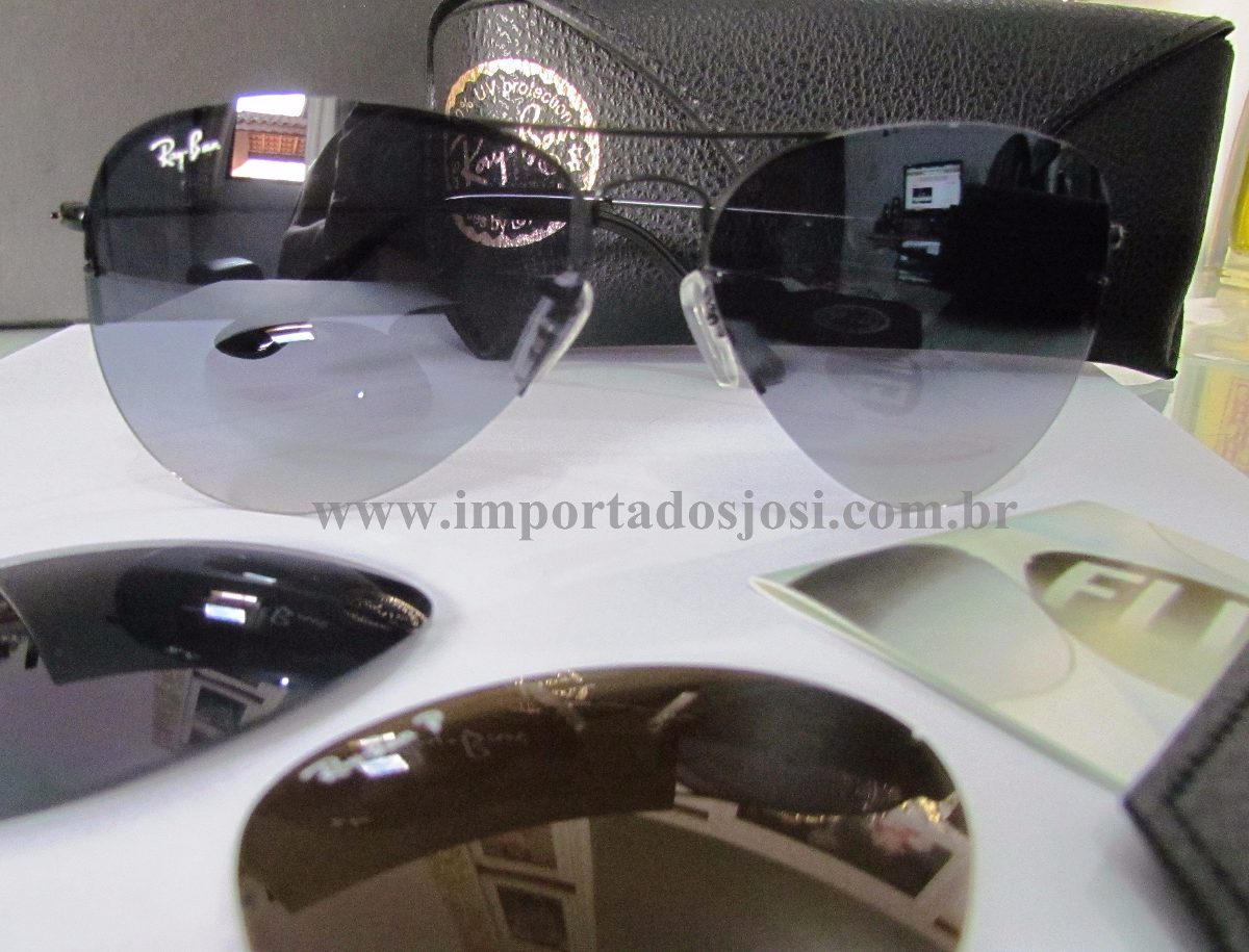 lente do meu ray ban quebrou