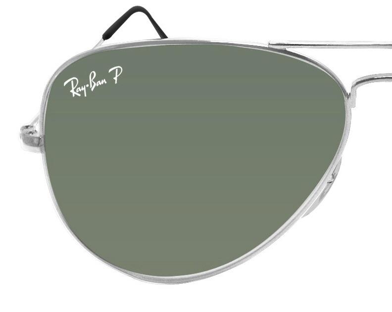 Ray Ban Aviador 3025 Polarizado G15 Marco Plateado - $ 1.899,00 en ...