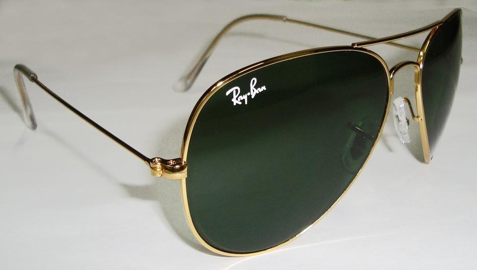4de4f98312f13 ray ban aviador 3026 g dourado com verde g15 original. Carregando zoom.
