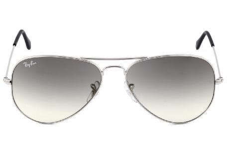 Ray Ban Aviador 3026 G Prata Com Preto Degrade Original - R  221,64 ... 740c482041