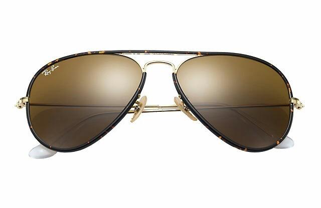 8f311 germany ray ban aviador full color espejo marrón degradado rb3025  4bb0b 8c5ec ... f7b19c473a