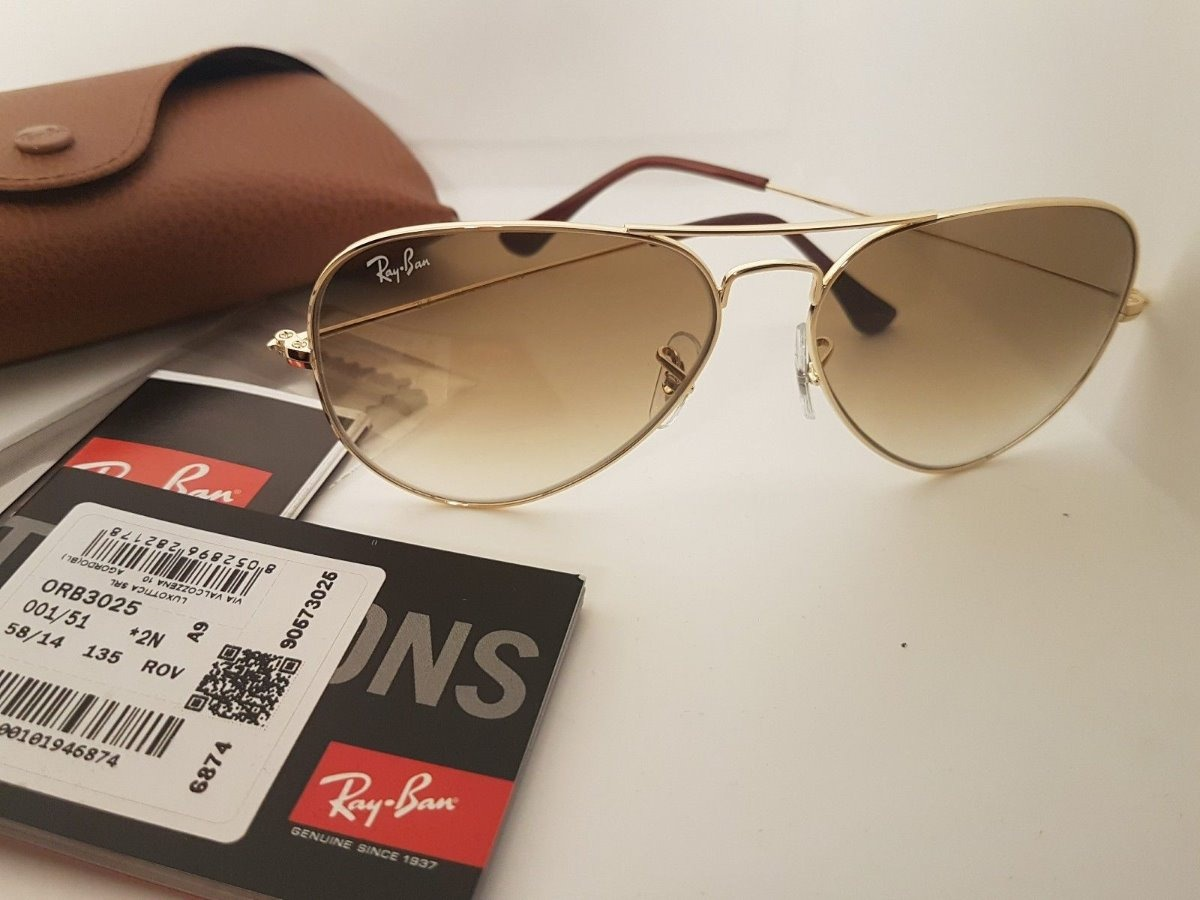 2a17db51c ray ban aviador original rb3026 degradê fotos reais 60%off. Carregando zoom.