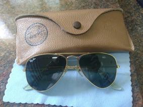 296f0a6b2 Ray Ban Aviador Tamanho P - Óculos De Sol no Mercado Livre Brasil