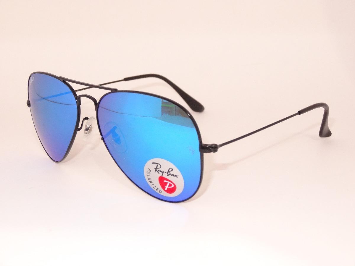 ray ban aviador polarizado rb3025 112 4l 58mm azul espejo. Cargando zoom. b008c65d24