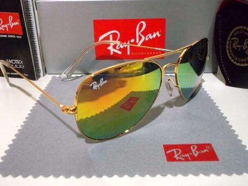 ray ban aviador rb 3025 espelhado varias cores top