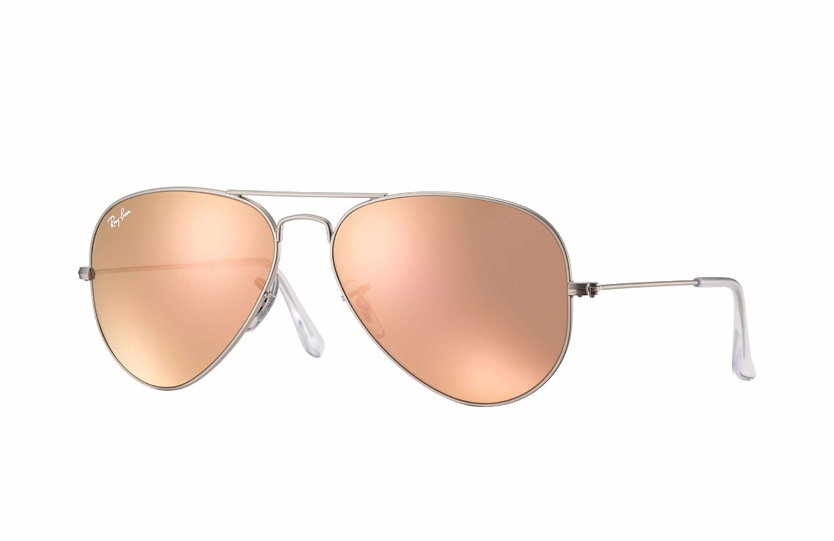 a099151587d2a ray ban aviador rb3025 019 z2 62-14 rosa espejo gota grande. Cargando zoom.