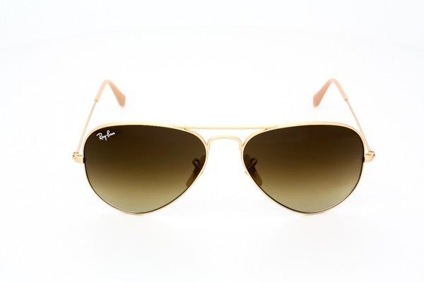 0a444e1f1 Ray-ban Aviador Rb3025 Dourado Com Marrom Sólido Original - R$ 219 ...