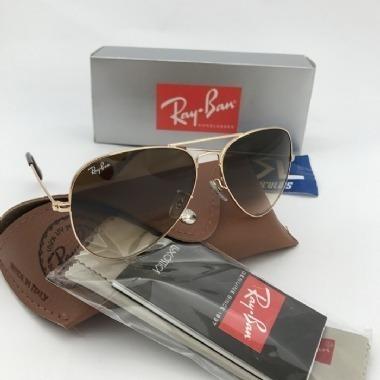 80c1631efb89a Ray Ban Aviador Rb3025 Prata Espelhado Original Feminino - R  219,90 ...