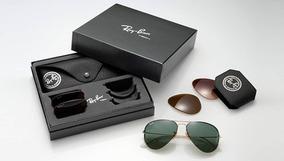 f4c251845 Ray Ban 3460 Tamanho 55 - Óculos no Mercado Livre Brasil